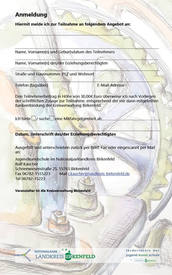 Schmuck im Industriedenkmal Bengel – jugend.kunst.ferien Sommer 2017b