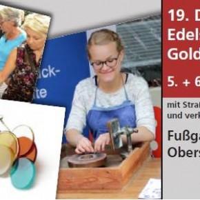 Jakob Bengel auf dem 19. Edelsteinschleifer- und Goldschmiedemarkt