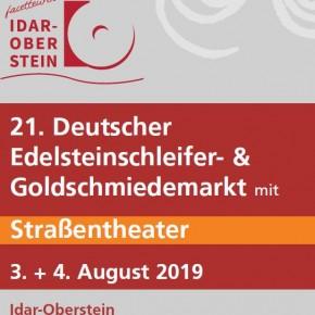 Stiftung Jakob Bengel auf dem 21. Edelsteinschleifer- und Goldschmiedemarkt