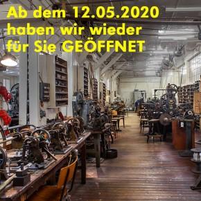 Industriedenkmal geöffnet