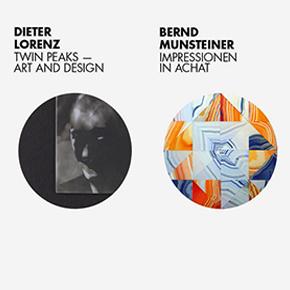 Twin Peaks – Art and Design | Impressionen in Achat von Dieter Lorenz und Bernd Munsteiner